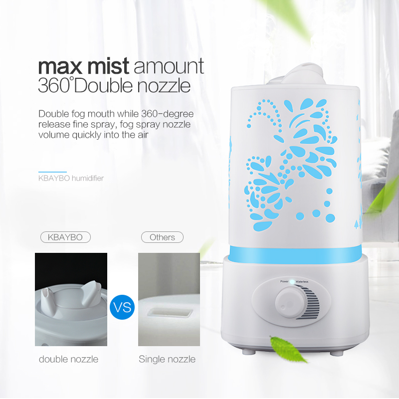 New 1500ml Aroma Air Humidifier Led Air Diffuser Air