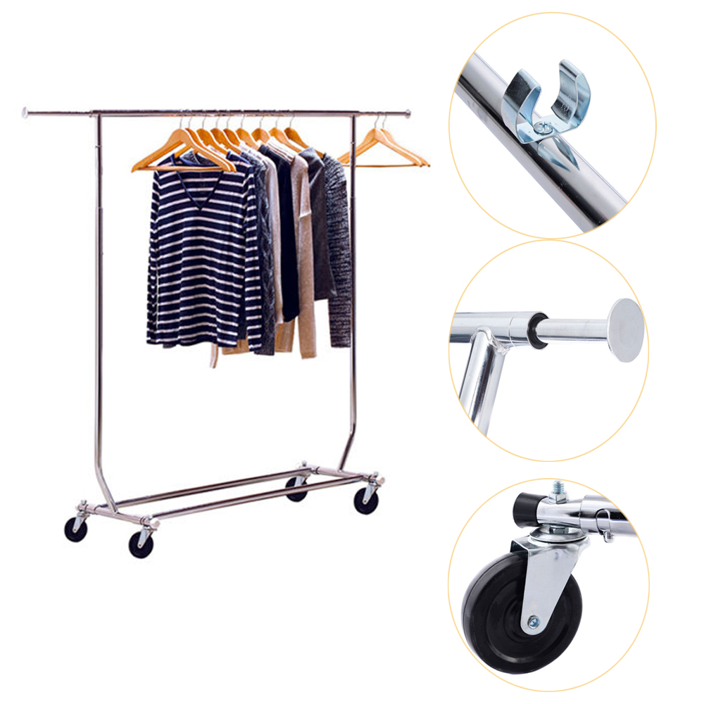 Commercial Grade Adjustable Cloth Rolling Double Garment