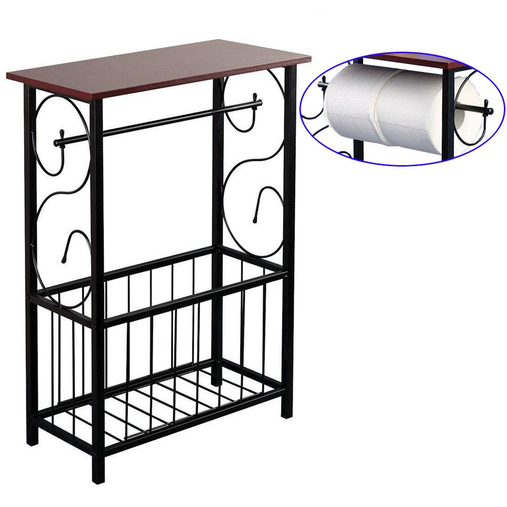 End sofa table holder magazine stand storage rack bath - Small storage table for bathroom ...