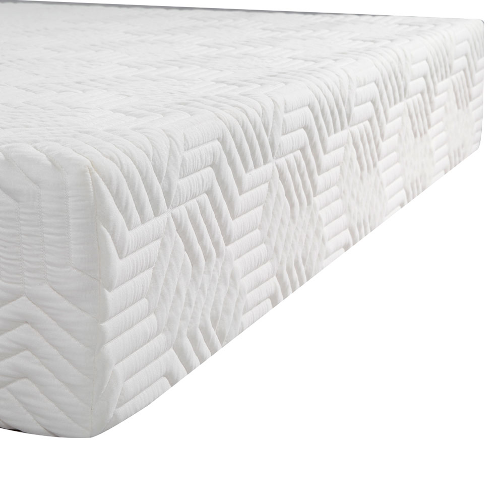 10 inch queen traditional firm gel memory foam mattress bed with 2 free pillows ebay. Black Bedroom Furniture Sets. Home Design Ideas