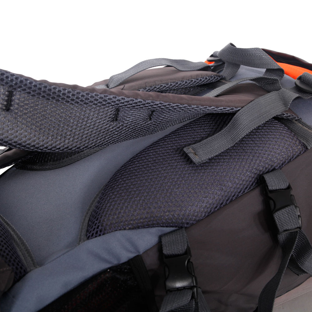 84f14122355d 60L Waterproof Outdoor Backpack Hiking Climbing Travelling Bag Day Pack  Rucksack