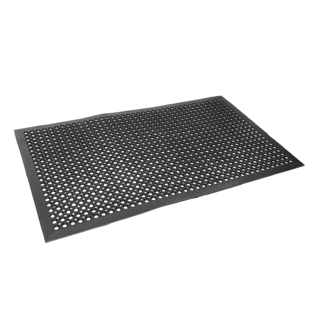 2pcs Anti Fatigue Drainage Rubber Non Slip Floor Mat Bar Kitchen Industrial Mat Ebay