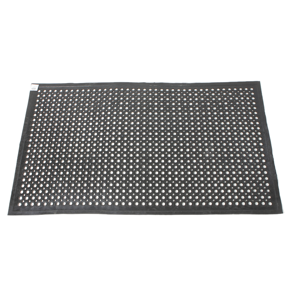 2pcs anti fatigue drainage rubber non slip floor mat bar kitchen industrial mat ebay. Black Bedroom Furniture Sets. Home Design Ideas